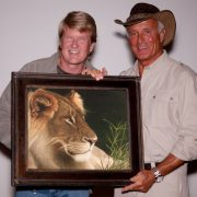 Paul Schulz from Outback Oasis and Jack Hanna